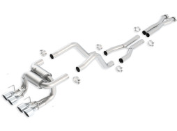 Borla Atak C6 ZR1 Z06 Cat-Back Exhaust 140422 Full System Shot