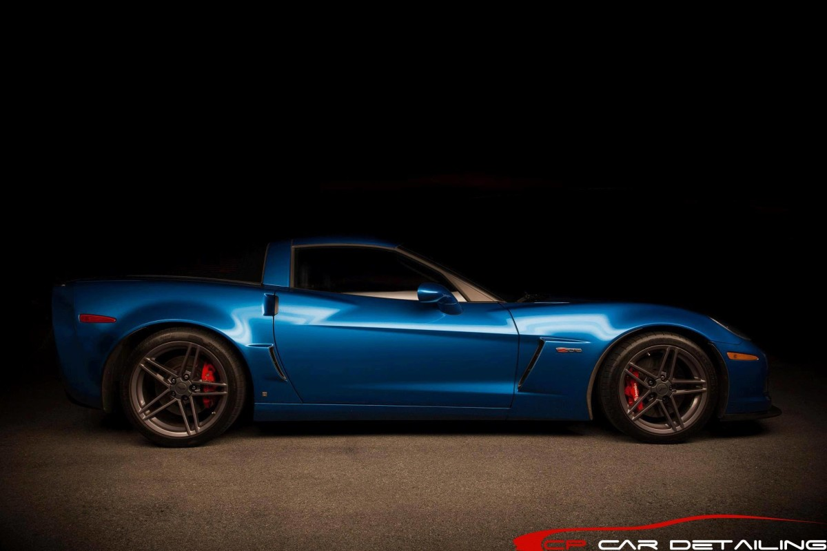 My Corvette Z06 in Jetstream Blue