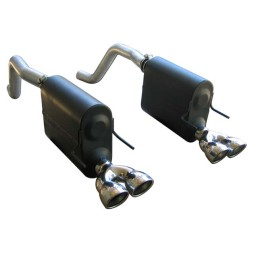 Flowmaster American Thunder Cat-Back Exhaust for 2005-2008 C6 Corvette 817512 Full System Photo