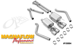 MagnaFlow Complete Exhaust System for 2005-2008 C6 Corvette MF-15884 Full System Photo